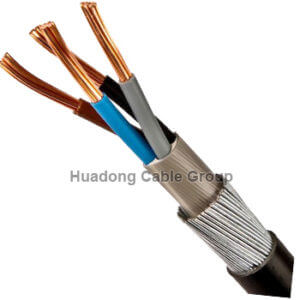 16mm 4 core swa cable