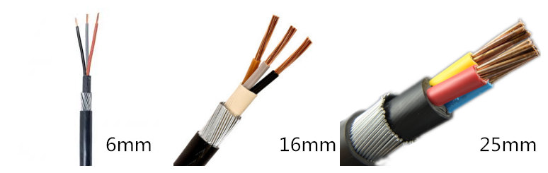 16mm 3 core swa cable for sale