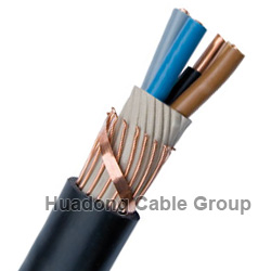 NYCY cable 25 mm armoured cable 4 core