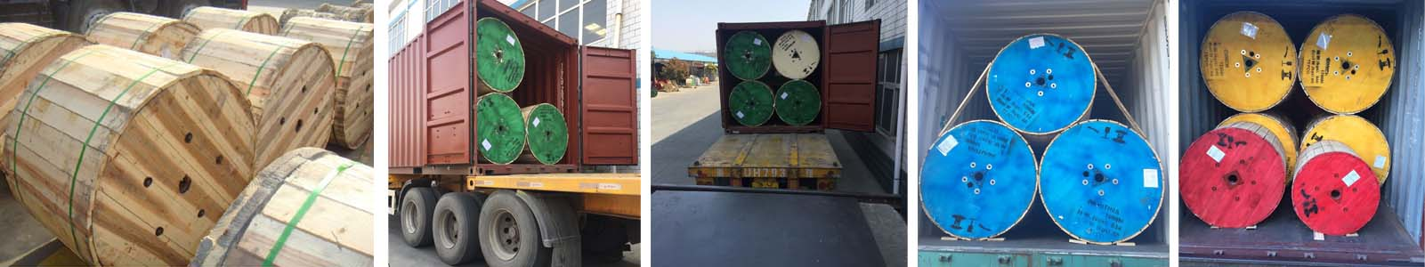 3core 4 core 240mm armoured cable delivery to South Africa and Nigeria