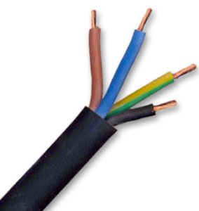 copper 95 sq mm 4 core flexible cable