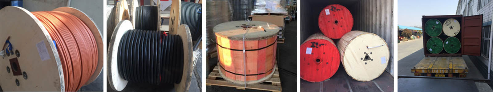packaging of 8-2 awg welding cable for sale of huadong